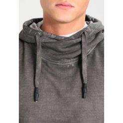 Tigha TAYO  Bluza z kapturem vintage grey. Szare bluzy męskie rozpinane Tigha, m, z bawełny, z kapturem. Za 379,00 zł.