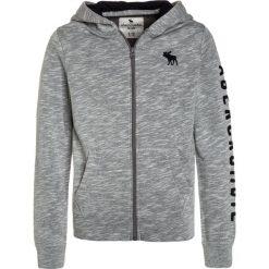 Abercrombie & Fitch CORE  Bluza rozpinana grey. Szare bluzy chłopięce rozpinane Abercrombie & Fitch, z bawełny. W wyprzedaży za 170,10 zł.