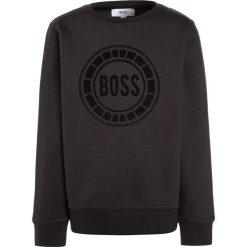 BOSS Kidswear Bluza dunkel grau. Niebieskie bluzy chłopięce marki BOSS Kidswear, z bawełny. W wyprzedaży za 197,40 zł.