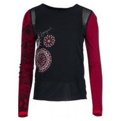 Desigual Bluzka Damska Glen, M, Czarna. Czerwone bluzki damskie marki numoco, l. Za 299,00 zł.