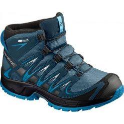 Salomon Buty Trekkingowe Xa Pro 3d Mid Cswp J Mallard Blue/Reflecting Pond/Mykonos Blue 31. Niebieskie buciki niemowlęce chłopięce Salomon, na sznurówki. W wyprzedaży za 285,00 zł.