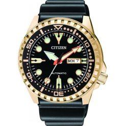 ZEGAREK CITIZEN Mechanical NH8383-17EE. Czarne zegarki męskie CITIZEN, ze stali. Za 890,00 zł.