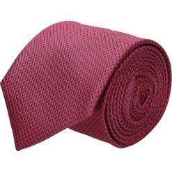Krawaty męskie: krawat platinum czerwony classic 212