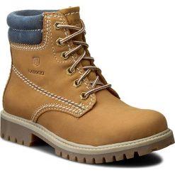 Trapery LASOCKI - WI20-ASPEN-06 Camel. Brązowe buty zimowe damskie Lasocki, z materiału. W wyprzedaży za 159,99 zł.