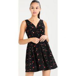 Sukienki hiszpanki: WAL G. SKATER ROSE Sukienka letnia black
