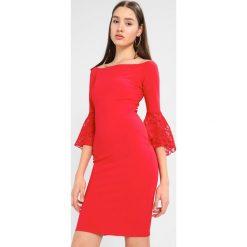 Sista Glam ZAZIE Sukienka etui red. Czerwone sukienki marki Sista Glam, z dżerseju. Za 359,00 zł.