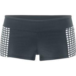 Figi bikini bonprix czarno-biały. Czarne bikini bonprix. Za 37,99 zł.