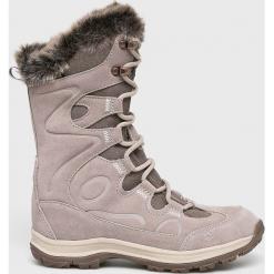 Jack Wolfskin - Buty. Czarne buty trekkingowe damskie marki Jack Wolfskin, w paski, z materiału. Za 699,90 zł.