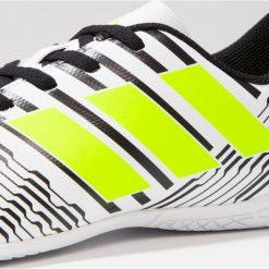 Adidas Performance NEMEZIZ 17.4 IN Halówki footwear white/solar yellow/core black. Białe halówki męskie adidas Performance, z gumy. W wyprzedaży za 134,25 zł.
