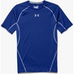 Odzież termoaktywna męska: Under Armour Koszulka termoaktywna HeatGear Compression Shortsleeve M niebieska r. XS (1257468-400)
