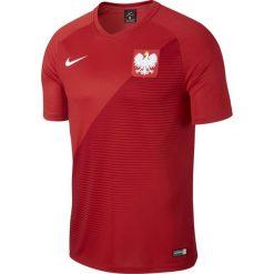 Koszulki do piłki nożnej męskie: Nike Koszulka męska Reprezentacji Polski FTBL Top SS Away czerwona r. L (AA3433-611)