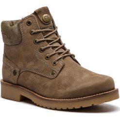 Trapery WRANGLER - Yuma Lady WL182507 Taupe 29. Brązowe buty zimowe damskie Wrangler, z materiału. W wyprzedaży za 279,00 zł.