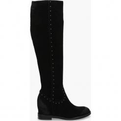 Kozaki czarne Bella. Czarne buty zimowe damskie Badura. Za 439,99 zł.