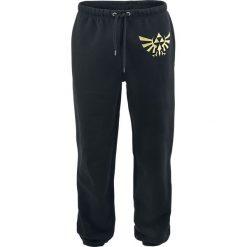 Spodnie dresowe damskie: The Legend Of Zelda Golden Logo Spodnie dresowe czarny