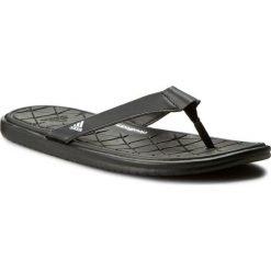 Japonki adidas - Caverock Cf S31679 Cblack/Ftwwht/Cblack. Czarne chodaki męskie Adidas, z materiału. Za 129,00 zł.