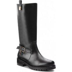 Kozaki PATRIZIA PEPE - 2V8215/A483-K103 Nero. Czarne buty zimowe damskie marki Patrizia Pepe, ze skóry. Za 1589,00 zł.