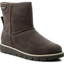 Buty JANA - 8-26433-39 Cigar 314. Szare buty zimowe damskie Jana, ze skóry. W wyprzedaży za 249,00 zł.