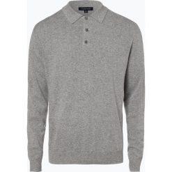 Andrew James - Sweter męski z dodatkiem kaszmiru, szary. Szare swetry klasyczne męskie Andrew James, m, z kaszmiru. Za 249,95 zł.