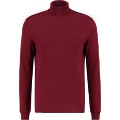 Swetry klasyczne męskie: Samsøe & Samsøe MINYA  Sweter cabernet