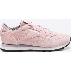 Reebok Classic - Buty Cl Lthr W&W. Czarne buty sportowe damskie reebok classic marki Asics, do biegania. W wyprzedaży za 219,90 zł.