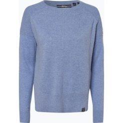 Superdry - Sweter damski z dodatkiem kaszmiru, niebieski. Niebieskie swetry klasyczne damskie Superdry, l, z dzianiny. Za 299,95 zł.