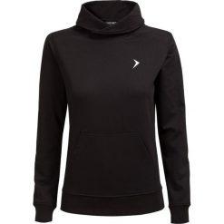 Bluza damska BLD600 - CZARNY - Outhorn. Czarne bluzy z kieszeniami damskie Outhorn, na jesień, z materiału. W wyprzedaży za 48,99 zł.