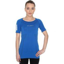 Bluzki asymetryczne: Brubeck Koszulka damska ciemnoniebieska r. XL (SS11080)