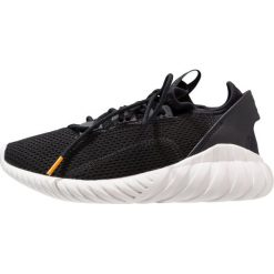 Adidas Originals TUBULAR DOOM SOCK PK  Tenisówki i Trampki core black/crystal white. Czarne tenisówki męskie adidas Originals, z materiału. W wyprzedaży za 279,30 zł.