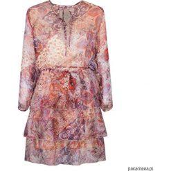Sukienka jedwabna Gabriella. Różowe sukienki mini marki Pakamera, z jedwabiu. Za 600,00 zł.