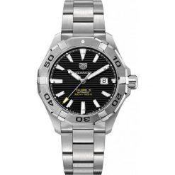 ZEGAREK TAG HEUER AQUARACER WAY2010.BA0927. Czarne zegarki męskie marki KALENJI, ze stali. Za 8860,00 zł.