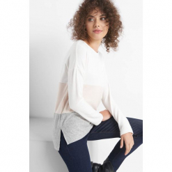 Lekki sweter w pasy. Brązowe swetry oversize damskie marki Orsay, xs, z dzianiny. Za 49,99 zł.