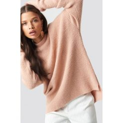 Sparkz Sweter Liepa - Pink. Różowe swetry oversize damskie Sparkz, z dzianiny. Za 262,95 zł.