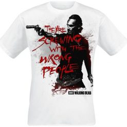 T-shirty męskie: The Walking Dead Rick Grimes - Wrong People T-Shirt biały