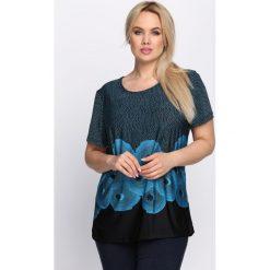 T-shirty damskie: Czarno-Niebieski T-shirt Sweetest Thing.