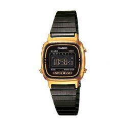 Zegarek damski Casio Retro LA670WEGB-1BEF. Czarne zegarki męskie CASIO. Za 283,00 zł.