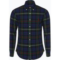 Polo Ralph Lauren - Koszula męska – Slim Fit, niebieski. Szare koszule męskie slim marki Polo Ralph Lauren, l, z bawełny, button down, z długim rękawem. Za 529,95 zł.