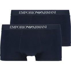 Bokserki męskie: Emporio Armani TRUNK 2 PACK Panty navy blue
