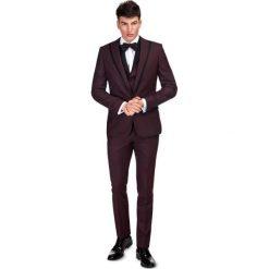 Garnitur ślubny GAAS000124. Czarne garnitury Giacomo Conti, paisley, z tkaniny. Za 1999,00 zł.
