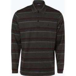 Ragman - Męska koszulka polo, szary. Szare koszulki polo Ragman, l, w paski, z długim rękawem. Za 249,95 zł.