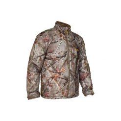 Kurtka myśliwska zimowa ACTIKAM 500 camo. Brązowe kurtki męskie zimowe marki LIGNE VERNEY CARRON, m, z bawełny. Za 149,99 zł.