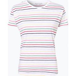 Marie Lund - T-shirt damski, czarny. Czarne t-shirty damskie Marie Lund, l, w paski. Za 69,95 zł.