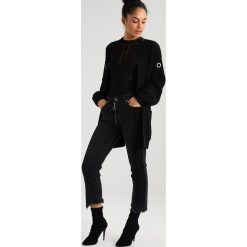 Boyfriendy damskie: NORR LISSI  Jeansy Relaxed Fit black