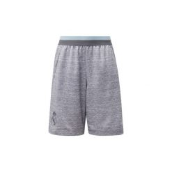 Szorty i Bermudy Dziecko adidas  Szorty dresowe Real Madrid. Szare spodenki chłopięce marki Adidas, z dresówki. Za 119,00 zł.