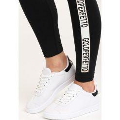 Buty sportowe damskie: Czarno-Białe Buty Sportowe Pashi