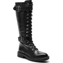 Oficerki BRUNO PREMI -  Evoque U8302X Nero. Niebieskie buty zimowe damskie marki Bruno Premi, z materiału. W wyprzedaży za 649,00 zł.