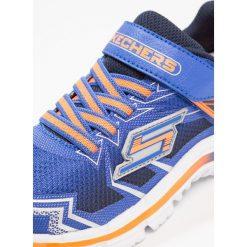 Skechers NITRATE Tenisówki i Trampki blue/navy. Szare tenisówki męskie marki Skechers, z materiału. Za 219,00 zł.