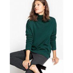 Swetry damskie: Kaszmirowy pulower z golfem