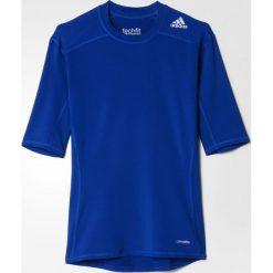 Adidas Koszulka męska Techfit Base Tee niebieska r. L (AJ4971). Niebieskie koszulki sportowe męskie Adidas, l. Za 92,13 zł.