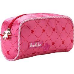 Kosmetyczki damskie: Kosmetyczka w kolorze różowym – 18 x 10 x 7 cm