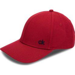 Czapka z daszkiem CALVIN KLEIN - Ck Baseball Cap W K60K604724 628. Czerwone czapki z daszkiem damskie Calvin Klein, z bawełny. Za 129,00 zł.